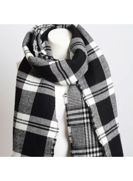 Louisa Ellis Plaid Blanket Scarf