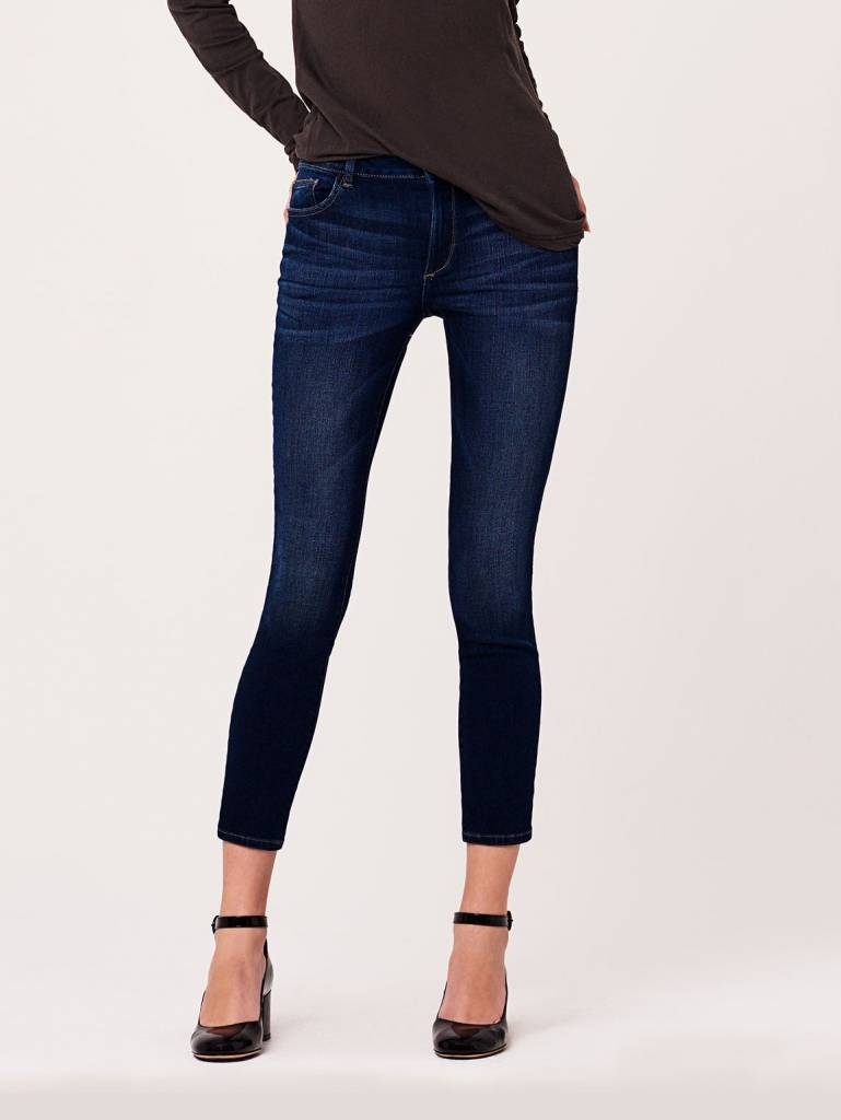 DL1961 Margaux Mid-Rise Ankle Skinny Jeans