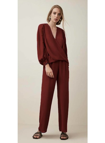 Krisa Wide Leg Pocket Pant