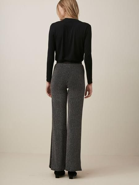 Krisa Paneled Wide Leg Pants