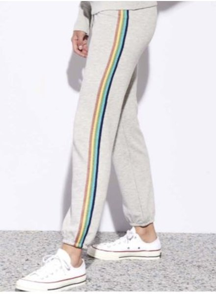 Sundry Rainbow Trim Sweatpants