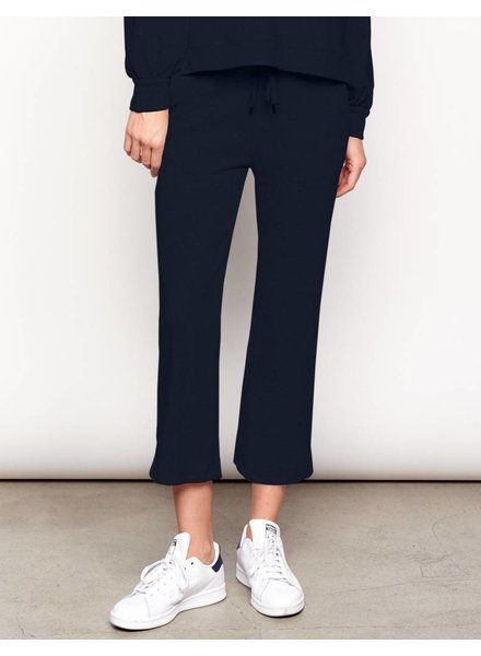 Sundry Crop Pintuck Sweatpants