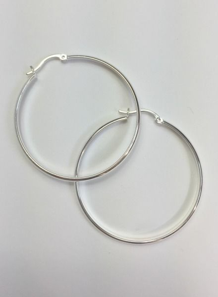 Louisa Ellis Silver Hoops