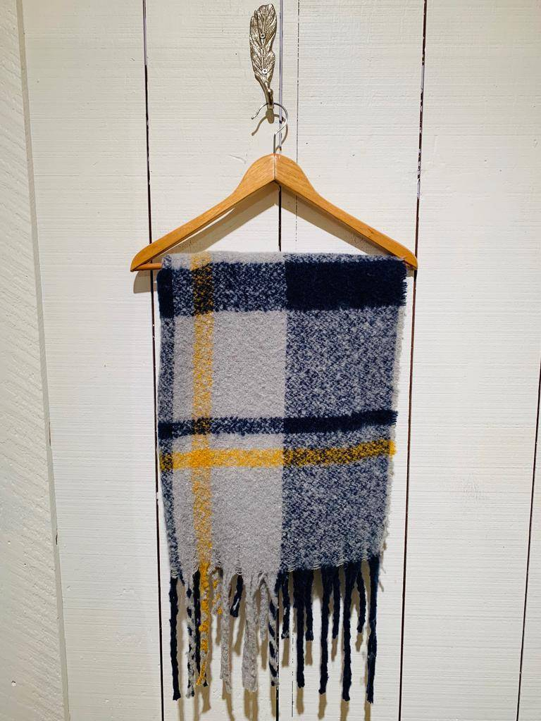 Serendipity The Plaid Roux Scarf