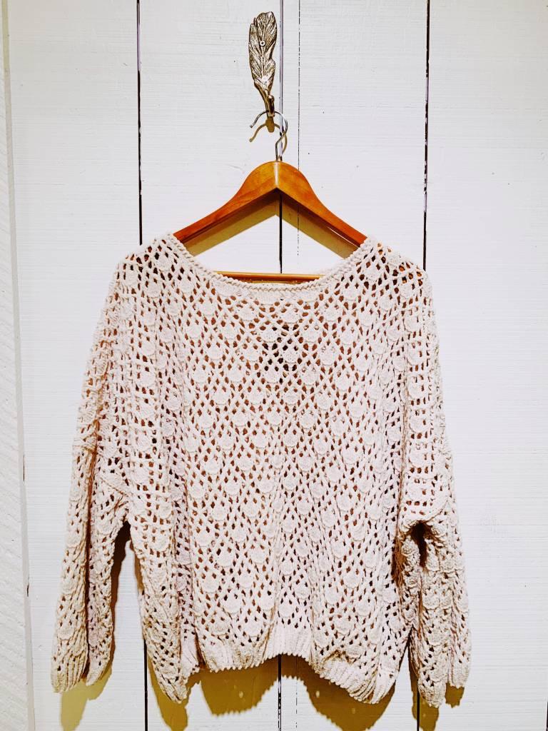 EM & ELLE Loose Knit Chenile Sweater