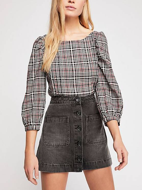 Free People Don't Get Me Wrong Skirt
