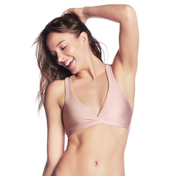 Maaji Woodrose Valley Bikini Top