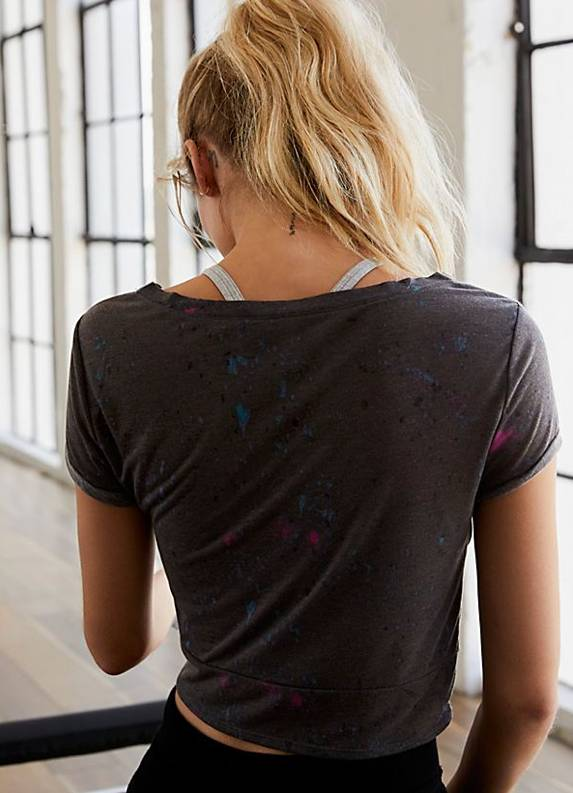 Free People Run In The Sun Print Tee