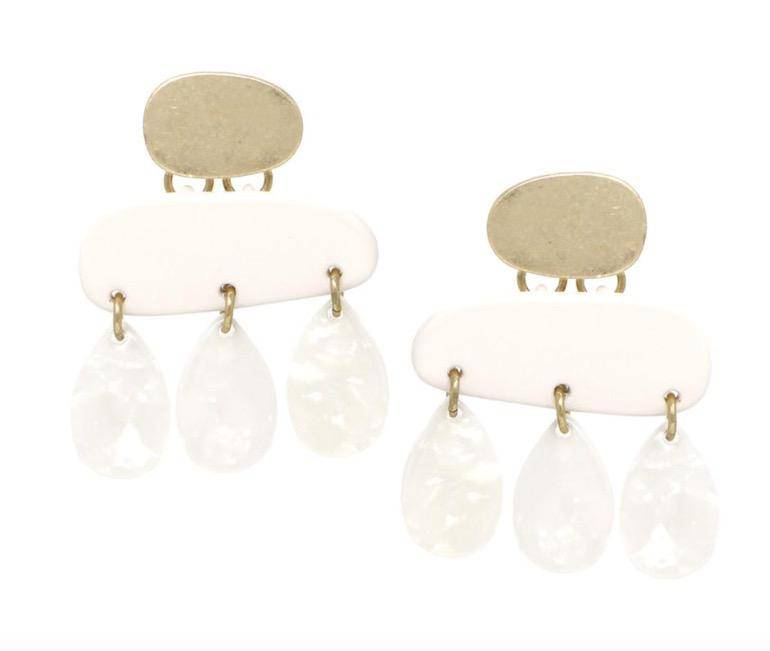 Serendipity Deco Statement Earring
