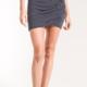 Z Supply The Micro Stripe Wrap Skirt