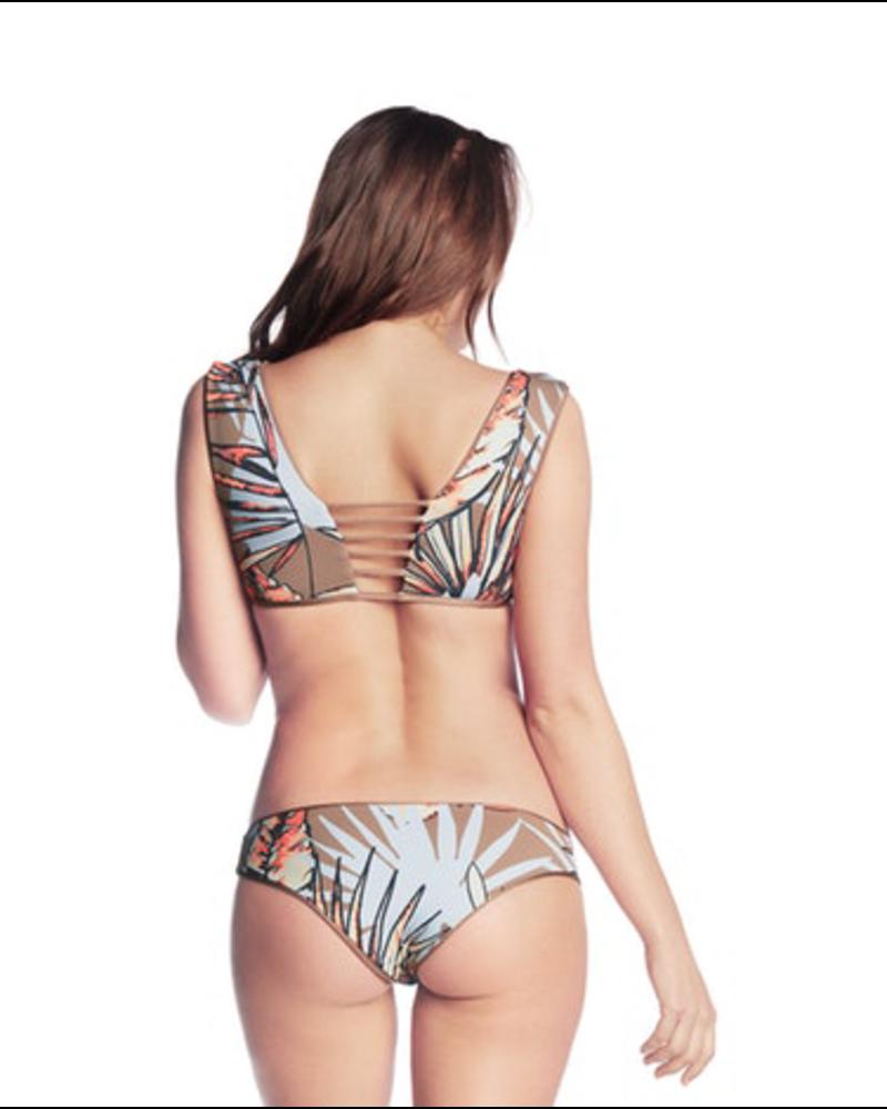 Maaji Champagne Split Bikini