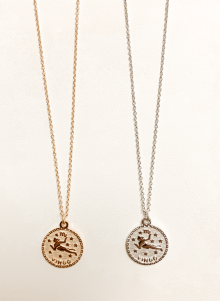 Serendipity Virgo In the Stars Necklace