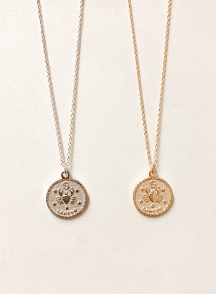 Serendipity Cancer In the Stars Necklace