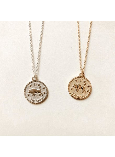 Serendipity Taurus In the Stars Necklace