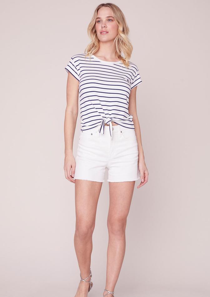 BB Dakota Stripes Ahoy Tee