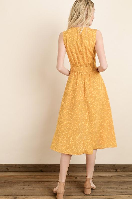 Serendipity Madbury Polka Dot Dress