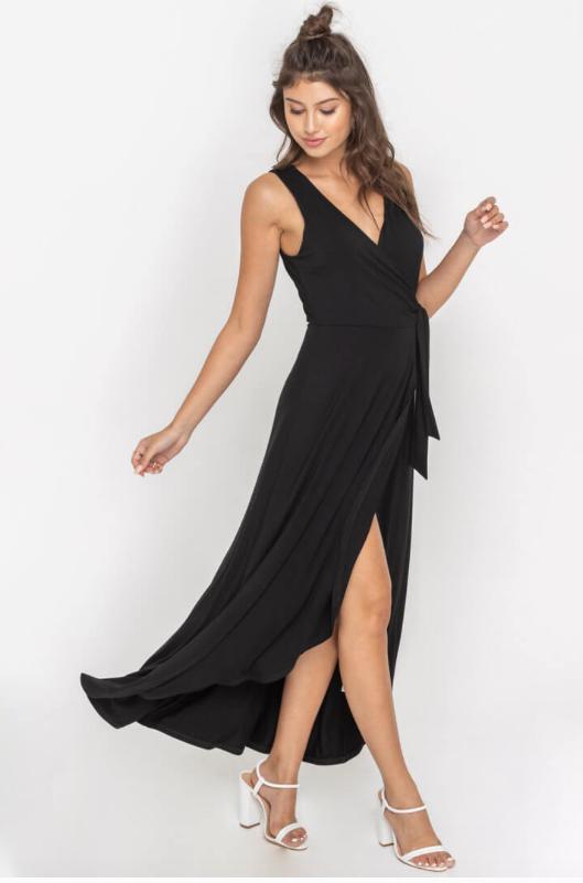 EM & ELLE Dean Wrap Dress