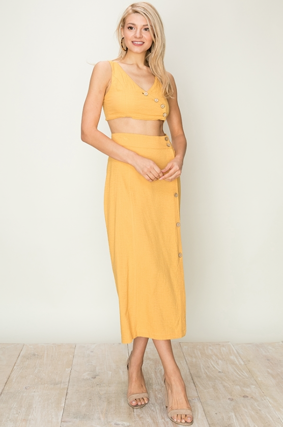 EM & ELLE Sunset Lover Skirt
