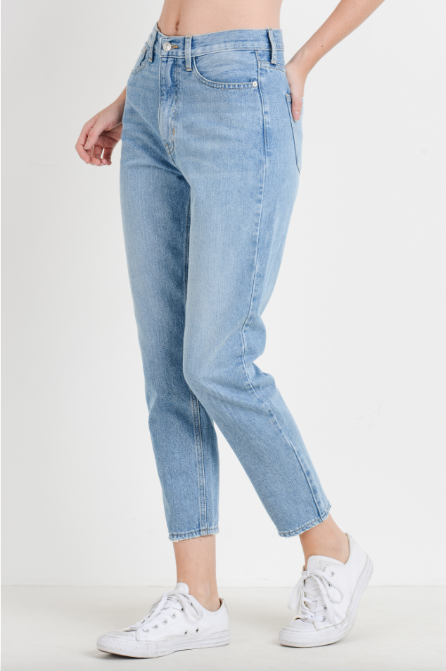 Just Black Denim Road Trippin' Mom Jean