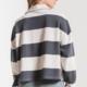 Z Supply The Rugby Stripe Collard Shirt