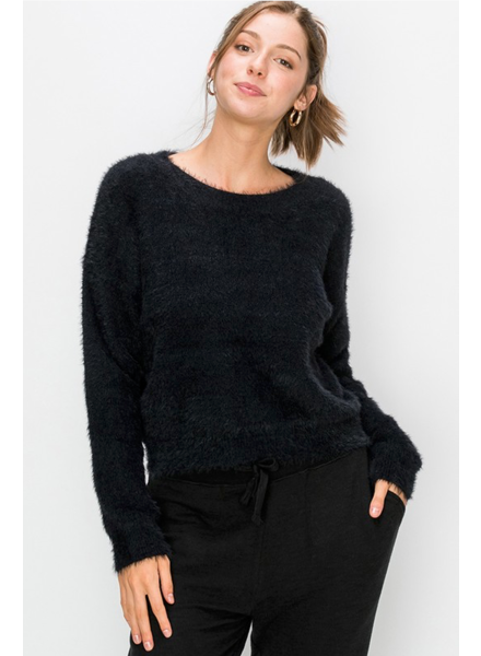 EM & ELLE Snuggle Me Eyelash Sweater