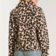 Z Supply The Leopard Sherpa Crop Jacket