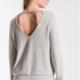 Z Supply The Soft Spun Strap Back Pullover