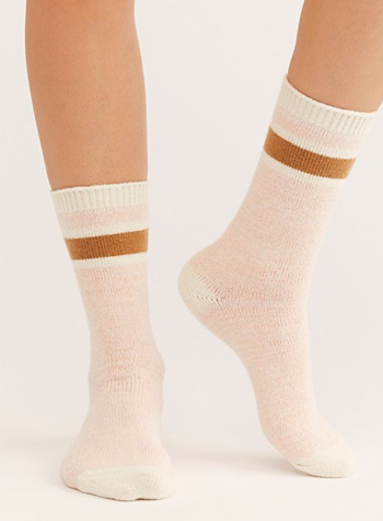 Free People Quincy Stripe Socks
