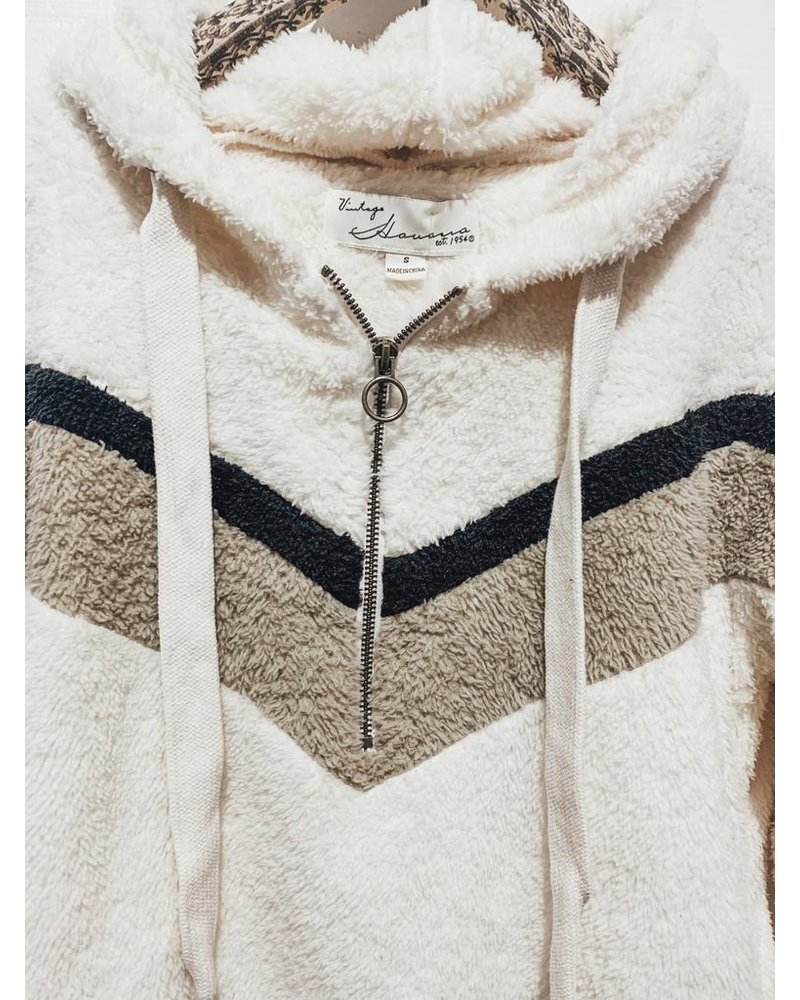 Vintage Havana Cold Like My Heart Zip-Up