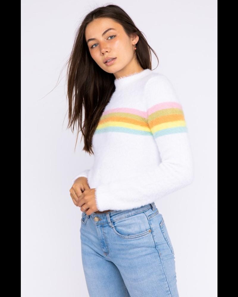 EM & ELLE Stripes of Mystery Sweater