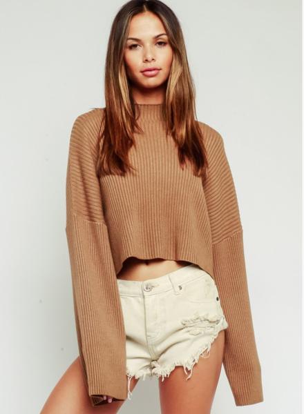 EM & ELLE Breton Ribbed Sweater