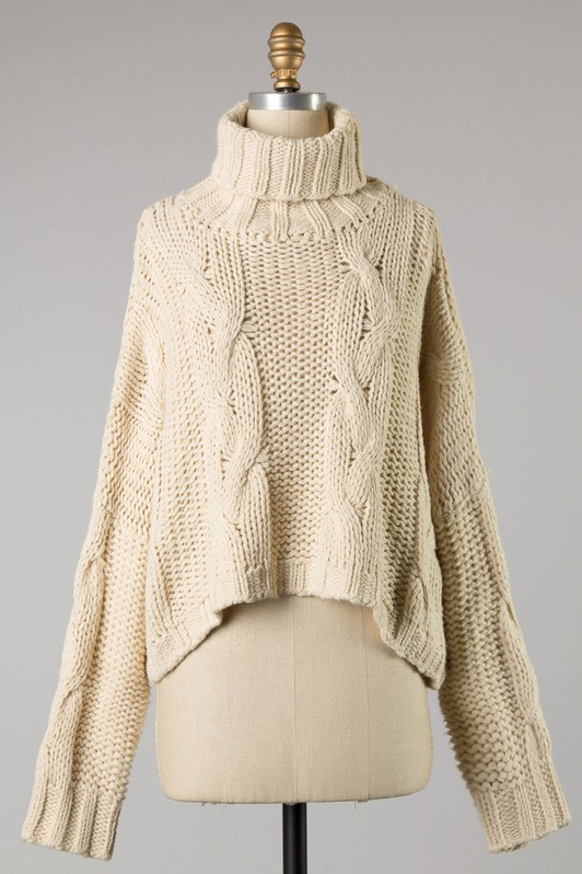 EM & ELLE Adirondack Sweater