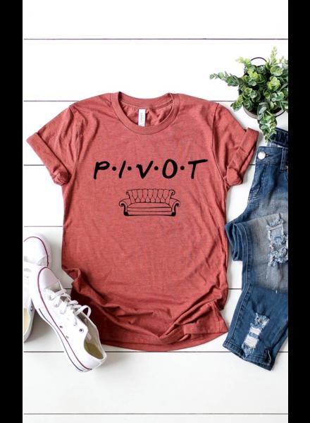 Kissed PIVOT Graphic Tee