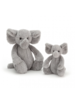 Jellycat Bashful Grey Elephant Medium
