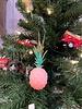 One Hundred 80 Degrees Pink Pineapple Ornament