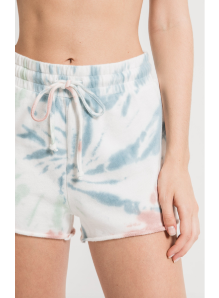 Z Supply The Multi Color Tie Dye Short