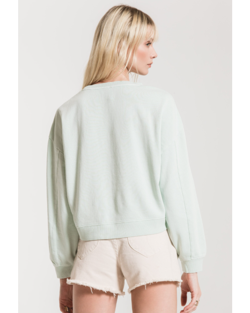 Z Supply The Cotton French Terry Pullover