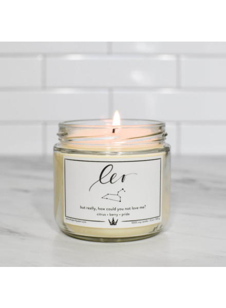 Evil Queen ZODIAC Soy Candle
