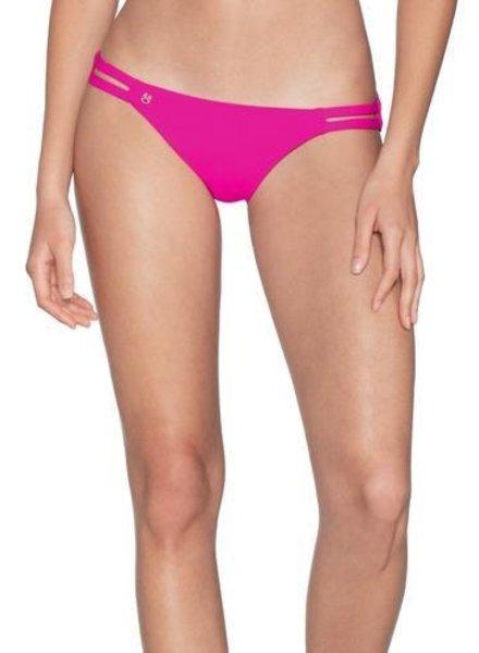 Maaji Hibiscus Pink Split Bikini Bottom