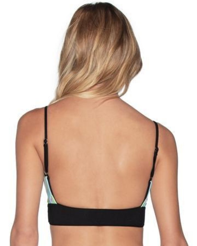Maaji Artemis Black Day Dream Bikini Top