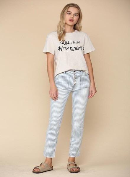 EM & ELLE Mcguire Striped Pants