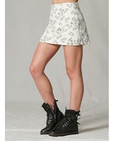 EM & ELLE Clayton Leaf Mini Skirt