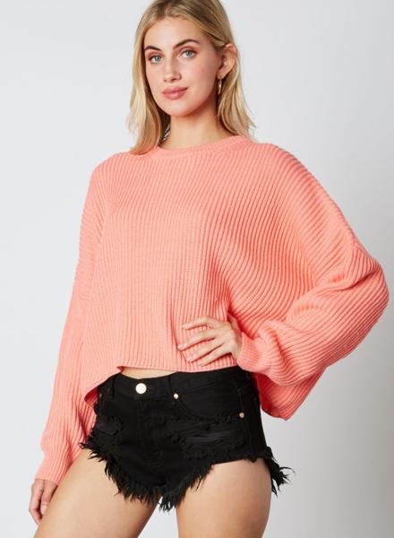 EM & ELLE Crocus Knit Sweater