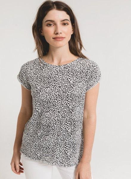 Z Supply The Mini Leopard Tee