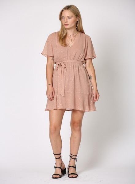EM & ELLE Georgie Chiffon Dress