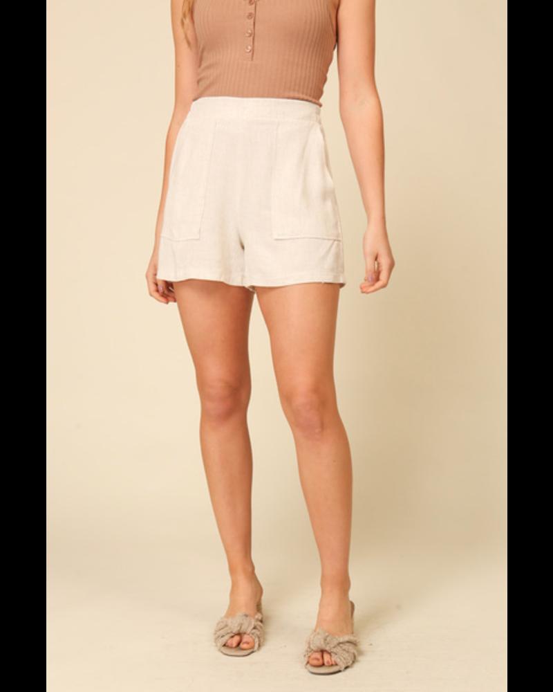 EM & ELLE Wilde Elastic Waist Shorts
