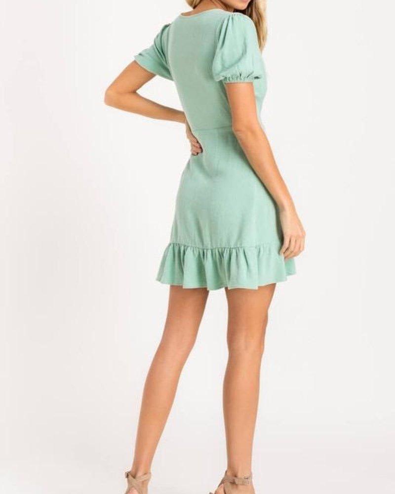 EM & ELLE Make it Mine Wrap Dress
