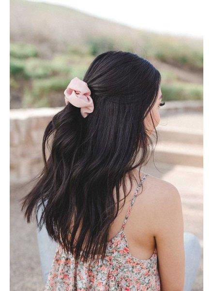 EM & ELLE Spring Pink Scrunchie