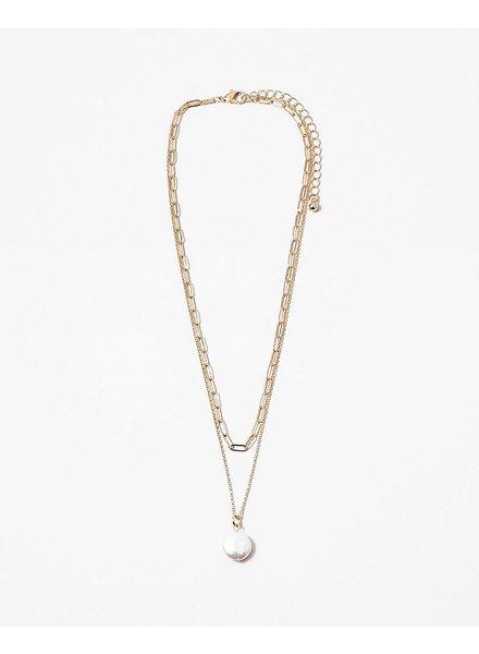 EM & ELLE Larissa Pearl Necklace