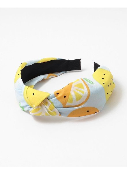 EM & ELLE Lemon Knotted Headband
